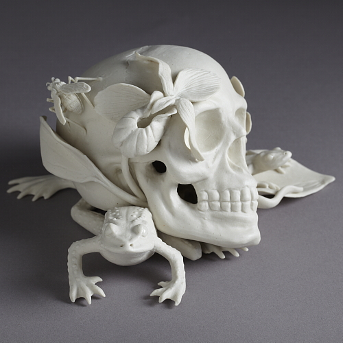 """memento mori"" side view"